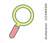 find icon vector | Shutterstock .eps vector #1214469334