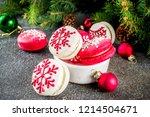 creative idea for christmas... | Shutterstock . vector #1214504671