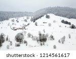 winter in schwarzwald. the...   Shutterstock . vector #1214561617