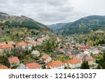urban landscape from the... | Shutterstock . vector #1214613037