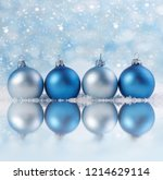 christmas background with xmas...   Shutterstock . vector #1214629114