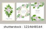 vector illustration set of... | Shutterstock .eps vector #1214648164