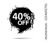 black marketing banners for... | Shutterstock .eps vector #1214652751
