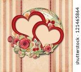 Vintage Valentine Background ...