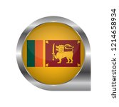 flag of sri lanka  location map ... | Shutterstock .eps vector #1214658934
