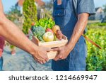 Farmer Selling His Organic...