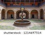 potosi  bolivia   october 17 ... | Shutterstock . vector #1214697514