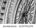 Giant Clock On The Facade Of...
