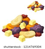 detailed icon. dried fruits... | Shutterstock . vector #1214769304