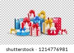 vector christmas  new year... | Shutterstock .eps vector #1214776981