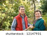 mature  middle age or senior... | Shutterstock . vector #12147931