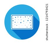 sponge for bathing icon with...   Shutterstock .eps vector #1214793421