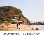 newport coast  california  ... | Shutterstock . vector #1214807704