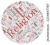vector conceptual religion  god ... | Shutterstock .eps vector #1214847787