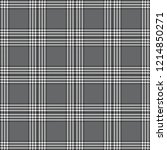 grey  black    white 6 stripe...   Shutterstock .eps vector #1214850271