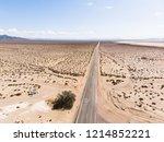 view of mojave desert panorama  ...