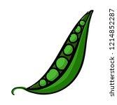 peas icon. cartoon of peas...   Shutterstock .eps vector #1214852287