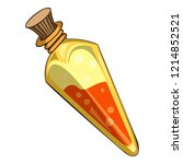 magic potion icon. cartoon of...   Shutterstock .eps vector #1214852521