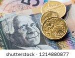 australian money background ... | Shutterstock . vector #1214880877