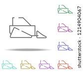 scraper icon. elements of... | Shutterstock .eps vector #1214904067