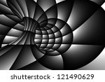 3d abstract spiral background