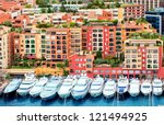 Luxury Yachts In Harbour Of...