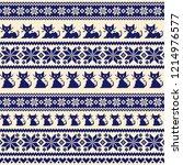 nordic events pattern... | Shutterstock .eps vector #1214976577