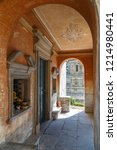 brienno   italy   july 2015 ... | Shutterstock . vector #1214980441