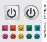 Start Icon. Vector Illustration.