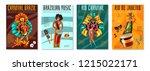 brazilian annual carnival... | Shutterstock .eps vector #1215022171