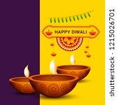 illustration greeting card... | Shutterstock .eps vector #1215026701