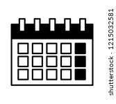calendar reminder date on white ... | Shutterstock .eps vector #1215032581