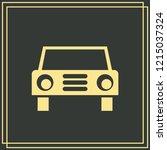 car icon.car icon vector on...   Shutterstock .eps vector #1215037324