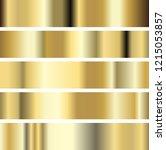 illustration five golden... | Shutterstock .eps vector #1215053857