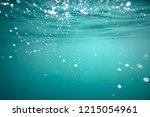 An Underwater Snapshot Of Wate...