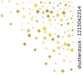 colorful stars confetti ... | Shutterstock .eps vector #1215062314