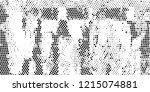 subtle halftone vector texture... | Shutterstock .eps vector #1215074881