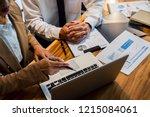 administrator business man... | Shutterstock . vector #1215084061