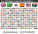 all national flags of the world ... | Shutterstock .eps vector #1215132631