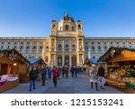vienna  austria   december 29 ... | Shutterstock . vector #1215153241