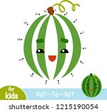 numbers game  education dot to... | Shutterstock .eps vector #1215190054