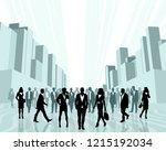 vector illustration of business ...   Shutterstock .eps vector #1215192034