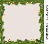 christmas greeting card | Shutterstock .eps vector #121521049