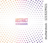 abstract  dots background.... | Shutterstock .eps vector #1215229021
