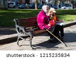 lviv   ukraine   october 06 ... | Shutterstock . vector #1215235834