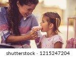 sweetness is good in normal... | Shutterstock . vector #1215247204