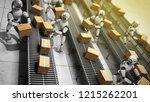modern concept of precise... | Shutterstock . vector #1215262201
