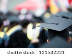 back of graduates during... | Shutterstock . vector #121532221