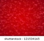 red valentine's day background | Shutterstock . vector #121534165