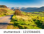 road to ennerdale water and... | Shutterstock . vector #1215366601